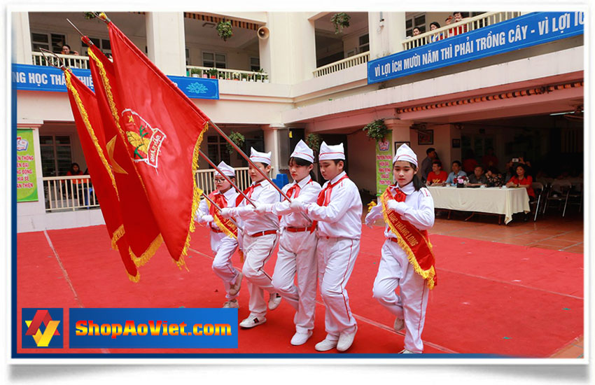 cờ đội TNTP Hồ Chí Minh